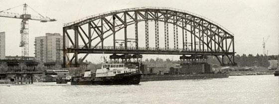 Железнодорожный мост через р неву